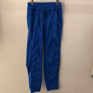 Lululemon blue pant, sz 4, 64232